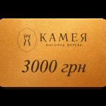 Подарунковий сертифікат 3000 грн